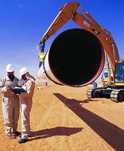 فهرست بهای خطوط لوله بین شهری انتقال نفت و گاز - سال 94